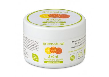 Greenatural MASCHERA CAPELLI Multivitamine ACE - 200 ml