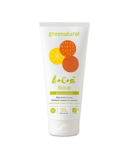 Greenatural SCRUB CORPO Multivitamine ACE - 200 ml
