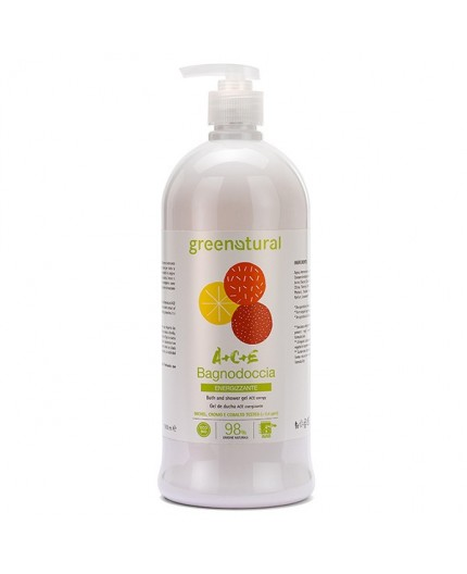 Greenatural BAGNODOCCIA Multivitamine ACE - ecobio - 1000 ml