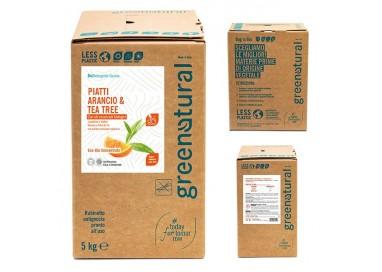 GN Piatti e Stoviglie - ARANCIO & TEA TREE - ecobio - 5 Kg