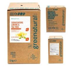 GN Sgrassatore LIMONE & TEA TREE - ecobio - 5 Kg