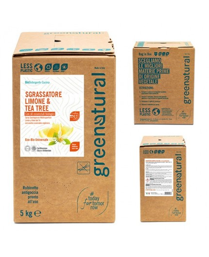 GN Sgrassatore LIMONE & TEA TREE - ecobio - 500 ml
