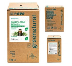 GN MOUSSE Bagno 2in1 MENTA & TEA TREE - eco - 5 Kg
