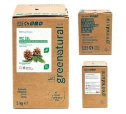 Greenatural BAG 5 Kg WC GEL Disincrostante 3in1 PINO - eco - 5 Kg