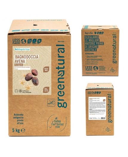 Greenatural Bagnodoccia AVENA & KARITE' - ecobio - 5 Kg