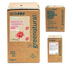 GN Bagnodoccia CARDAMOMO & ZENZERO - ecobio - 1000 ml