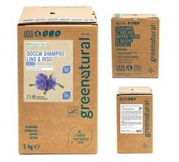 GN Docciashampoo LINO & RISO - ecobio - 1000 ml