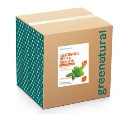 GN BAG Lavastoviglie liquido MENTA & EUCALIPTO – ecobio - 10 Kg
