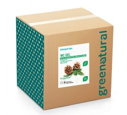 Greenatural BAG WC GEL Disincrostante 3in1 PINO - eco - 10 Kg