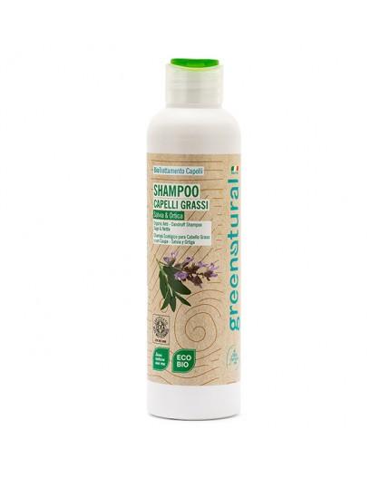 GN Shampoo ANTIFORFORA SALVIA & ORTICA - ecobio - 250 ml