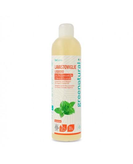 GN Lavastoviglie liquido MENTA & EUCALIPTO - ecobio - 500 ml