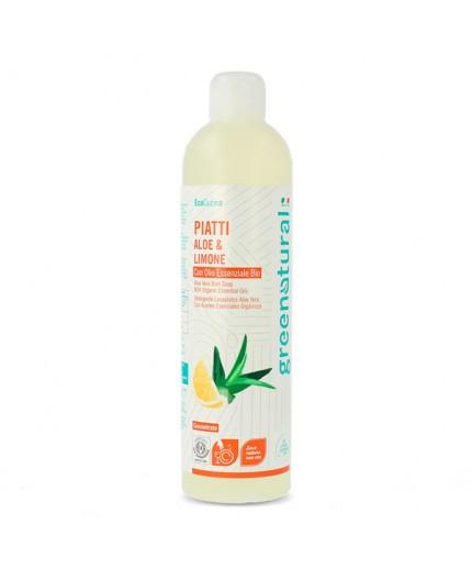 GN Piatti e Stoviglie ALOE & LIMONE - ecobio - 500 ml