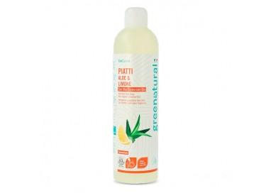 Greenatural Piatti e Stoviglie ALOE & LIMONE - ecobio - 500 ml