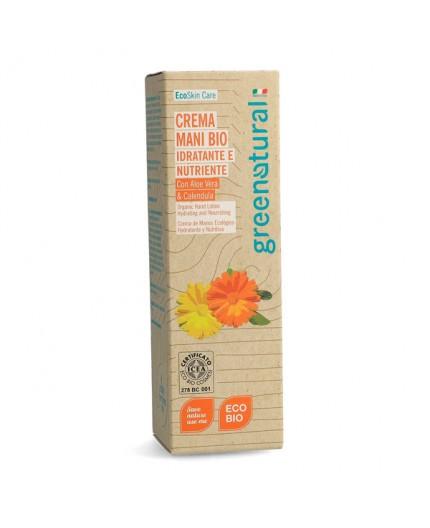 GN Crema MANI - ALOE & CALENDULA - 100 ml