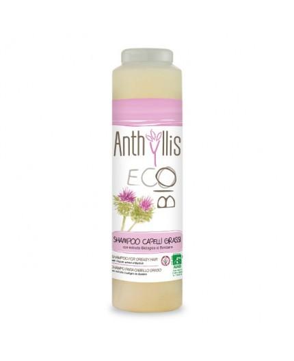 ANT Shampoo CAPELLI GRASSI - BARDANA & ROSMARINO - 250 ml