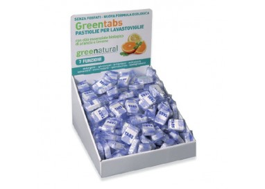 GN Greentabs LAVASTOVIGLIE Arancio & Limone - 450 pz