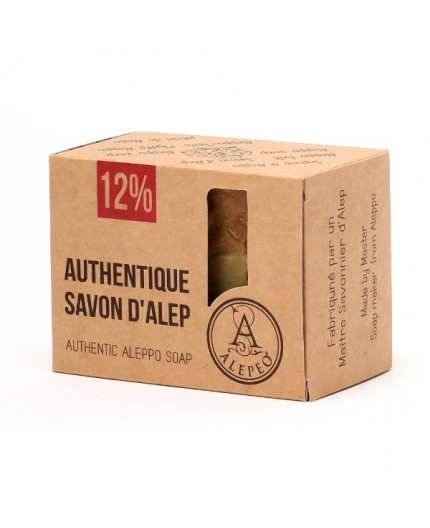 Sapone di ALEPPO 12% - 200 gr