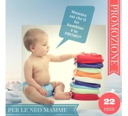 UNISEX - KIT EASYPU Pannolini baby - 22 pz