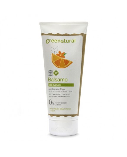 Greenatural BALSAMO Capelli AGRUMI - ecobio - 200 ml