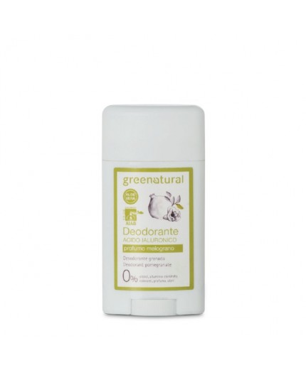Greenatural DEO GEL IALURONICO MELOGRANO - ecobio