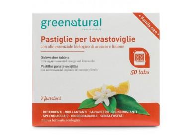 GN Greentabs 50 pz LAVASTOVIGLIE - ARANCIO & LIMONE