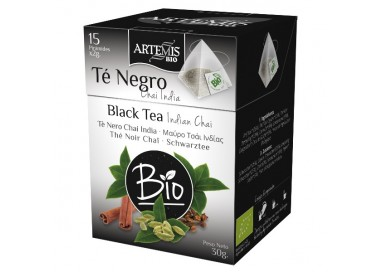 TE' NERO CHAI INDIA - BIO - Piramidi