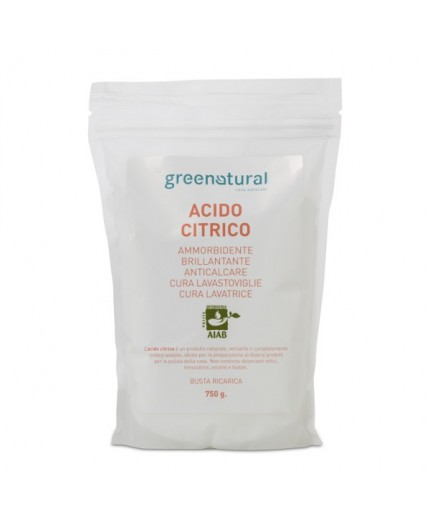 GN Acido Citrico - RICARICA - 0,75 Kg